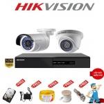 Bộ 2 camera quan sát HD Hikvision 2.0 Megapixel