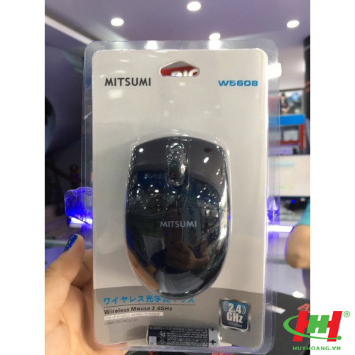 Mouse Wireless Mitsumi W-5608