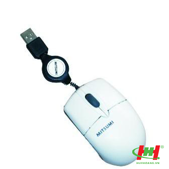 Mouse Mitsumi USB dây rút
