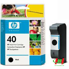 Mực in phun HP 51640A (HP 40) Black đen