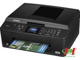 Máy in phun màu Đa chức năng Brother MFC J430W (In wifi,  scan,  copy màu,  fax)