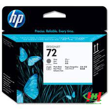 Đầu phun máy in HP PrintHead C9380A (HP 72 PB&Gr) Photo Black & Grey