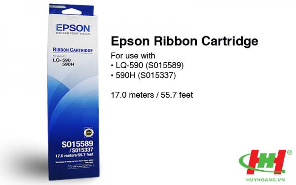 Ribbon Cartridge Epson LQ590 - C13S015589