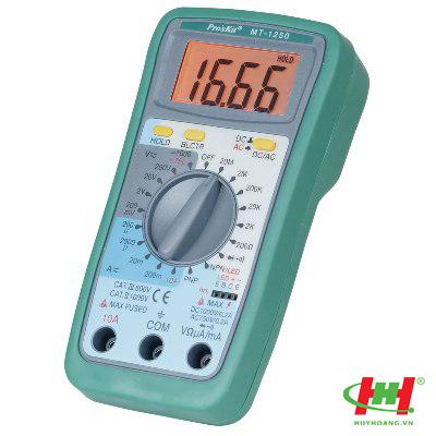 Đồng hồ Proskit MT-1250