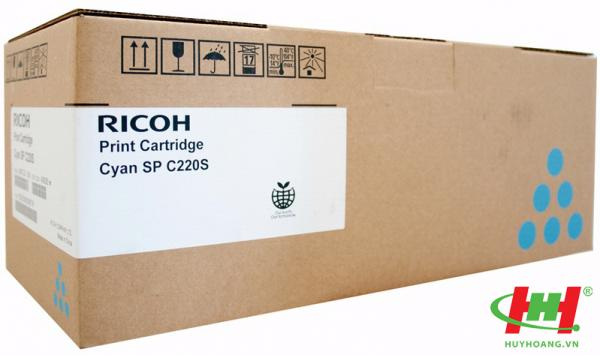 Mực in Ricoh C220S - 406060 Cyan