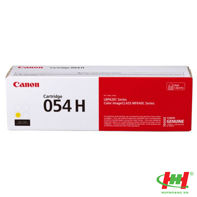 Mực in Canon Cartridge 054H Yellow