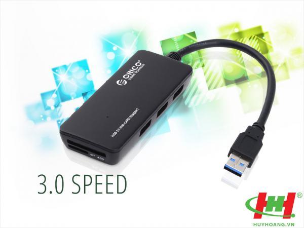 Bộ chia USB HUB 3 cổng USB 3.0 ORICO H3TS-U3