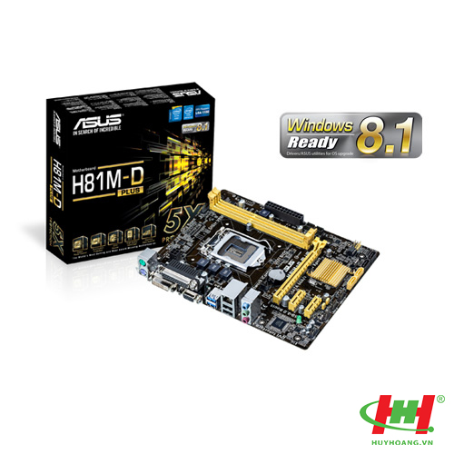 Mainboard Asus H81M-D Plus
