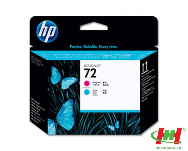 Đầu phun máy in HP PrintHead C9383A (HP 72 C&M) Cyan and Magenta