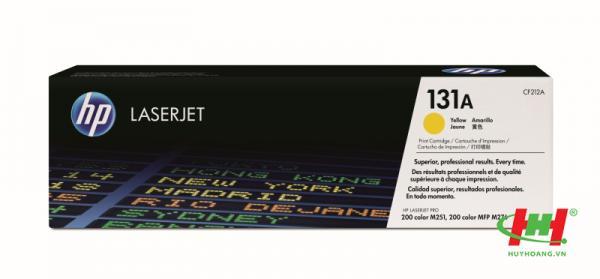 Mực in laser màu HP CF212A (HP 131A) Vàng