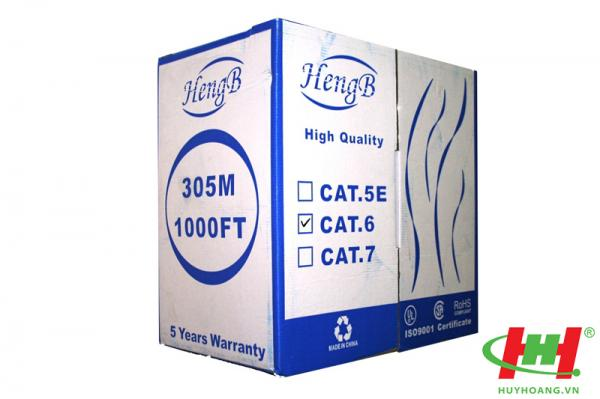 Cáp mạng HengB Cat5e FTP chống nhiễu
