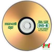 DVD trắng dùng để ghi - DVD Maxell