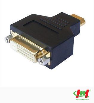 Đầu chuyển HDMI to DVI,  Đầu chuyển HDMI dương to DVI âm