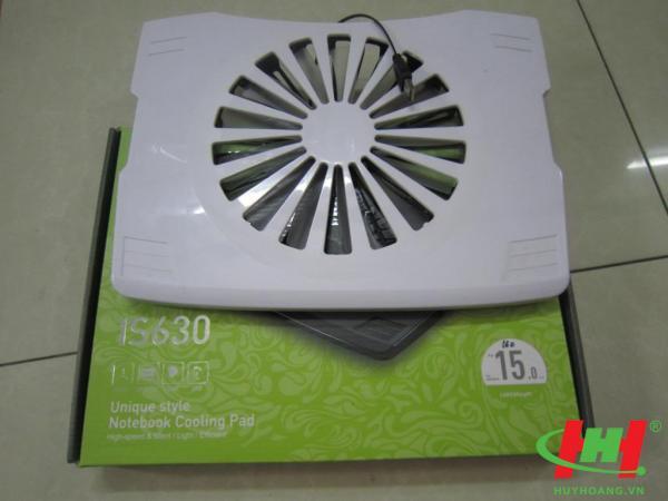 Đế quạt làm mát laptop IS630 Cooling Pad
