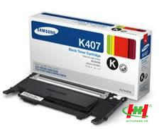 Mực in laser màu samsung CLT-K407S (đen)