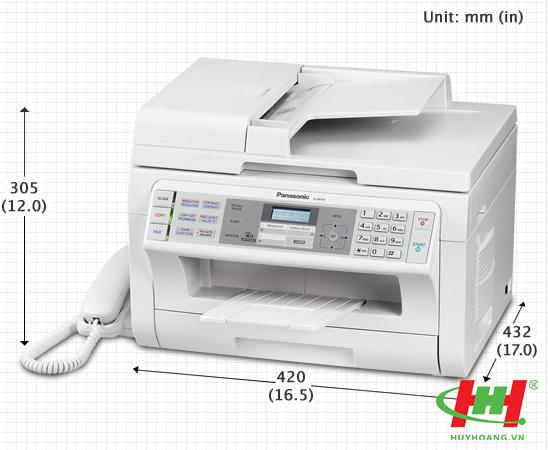 Máy in Panasonic KX-MB2085 (In,  Scan,  Copy,  Fax,  Tel,  PC Fax,  Laser trắng đen)