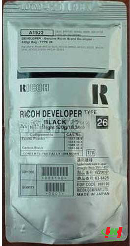 Bột Từ Photocopy Ricoh FT Type 26 Nhật