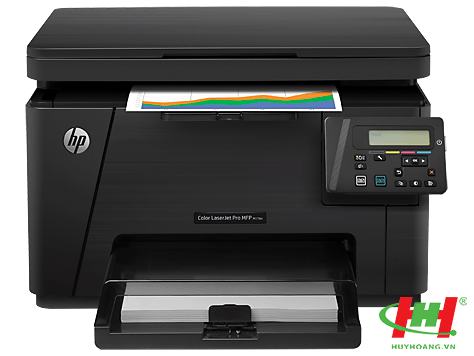 Máy in HP Color LaserJet Pro MFP M176N Printer CF547A ( in qua mạng,  scan,  copy)