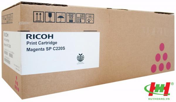 Mực in Ricoh C220S - 406061 Magenta