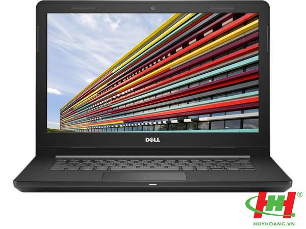 Laptop Dell  Inspiron 14 3467 i5-7200/ 4GB DDR4 / 1TB/ DVDRW/ 14.0 Đen hàng trưng bày