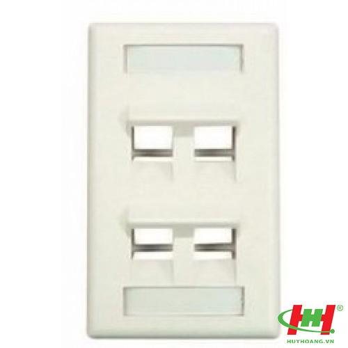 Wall Box - Hộp đế nổi cho mặt nạ 1, 2,  port,  US type,  48 x 69.8 x 114mm