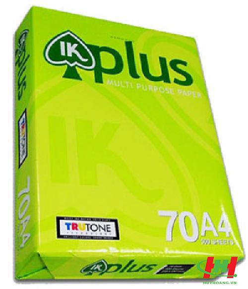 Giấy in IK Plus A4 70gsm