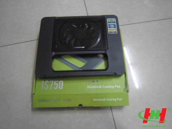 Đế quạt làm mát laptop IS750 Cooling Pad