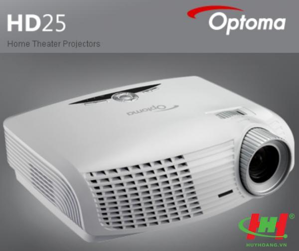 Máy chiếu Full HD-Full 3D HOME THEATER OPTOMA HD25