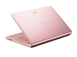 Máy tính xách tay Laptop Sony SVE14A25CV (Trắng/ Hồng/ Đen)