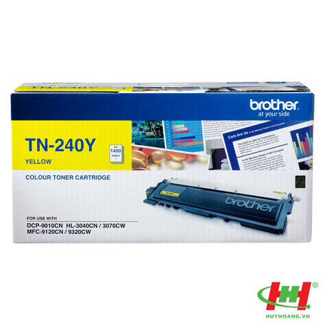 Mực in Brother TN-240 Yellow Toner Cartridge (TN-240Y)