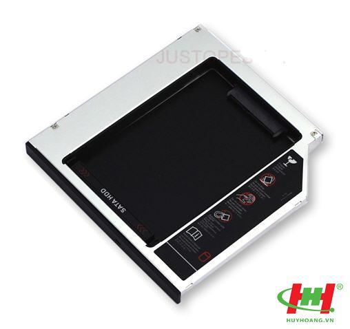 Caddy Bay  SSD - Lắp ổ cứng thứ 2 cho laptop qua khay CD loại mỏng