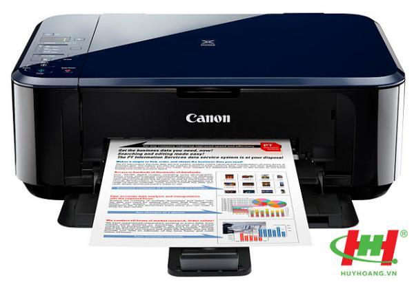 Máy in phun màu Canon Pixma E500 (In,  Scan,  Copy)