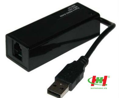 FAX MODEM EXTENAL USB mini chip conexant gửi nhận fax pc