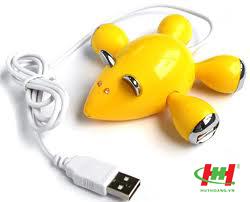 Hub USB 4 Port hình con chuột
