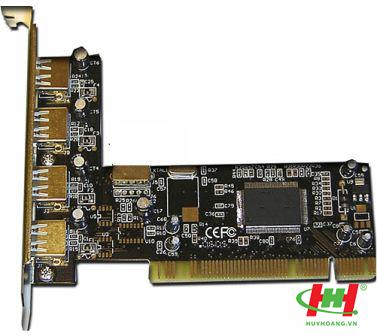 Card PCI to 4USB 2.0 - Card chuyển PCI ra USB