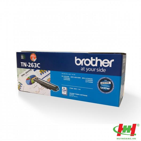 Mực in Brother TN-263 Cyan  (TN-263C)