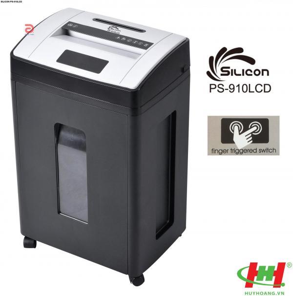 Máy hủy tài liệu Silicon PS-910LCD (siêu vụn)