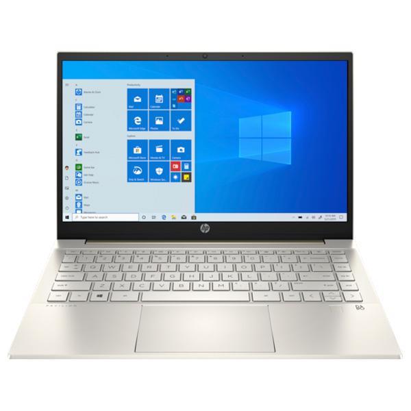 Máy tính xách tay Hp Pavilion 14-DV0008TU 2D7A5PA (vàng) i5 (1135G7) 8G/ SSD 512GB/ 14 FHD/ Win 10 + Office Gold,  nhôm