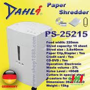 Máy hủy giấy - Máy hủy tài liệu DAHLI PS-25215
