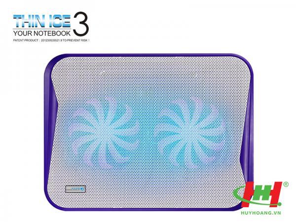 Đế quạt làm mát laptop CoolCold K20 Pop