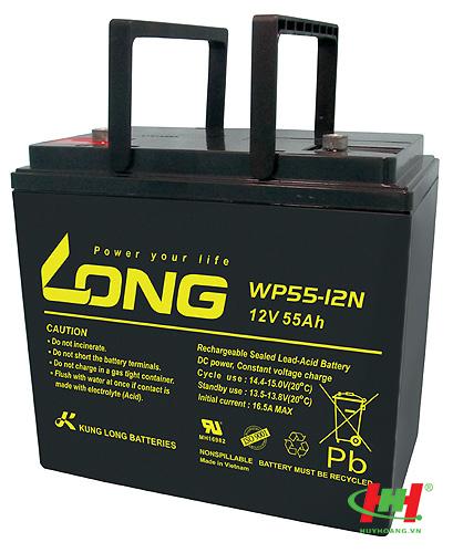 Bình ắc quy Long 12V-55Ah (WP55-12N)