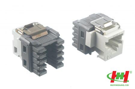 Cat5e Utp Modular Jack,  Keystone In-Line,  T568 A/ B - Adckrone