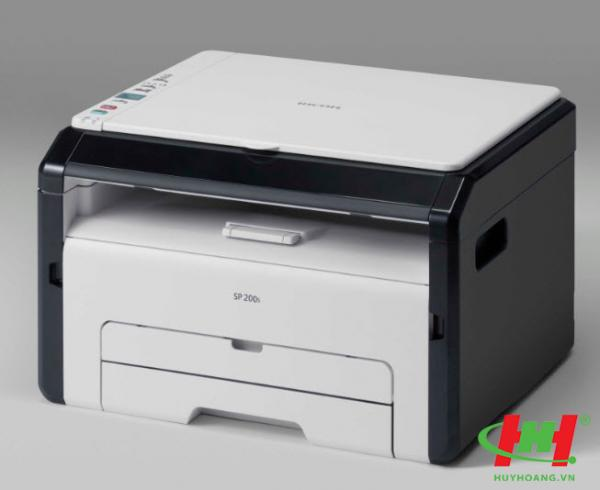 Máy in Laser đa năng Ricoh Aficio SP200S (In,  Copy,  Scan)