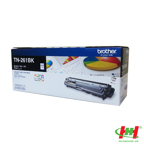 Mực in Brother TN-261 Black Toner Cartridge (TN-261BK)
