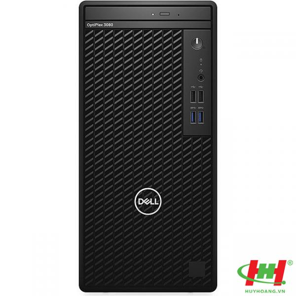 Máy tính để bàn Dell Optiplex 3080MT - 42OT380011 Intel Core i3-10100 - 3.6GHz ,  DDRam 4GB - 2666Mhz ,  HDD 1TB ,  DVD/RW,  K+Ml