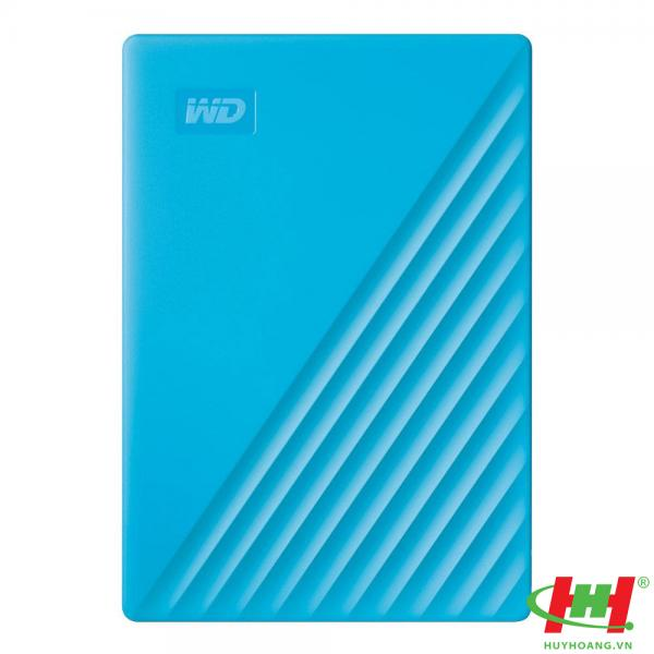 "Ổ cứng HDD WD My Passport 1TB 2.5"",  3.2 (WDBYVG0010BBL-WESN) (Xanh)"