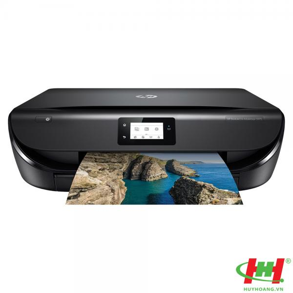 Máy in màu HP DeskJet Ink Advantage 5075 All-in-One (M2U86B) In,  Scan,  Copy,  Duplex,  Wifi,  Network