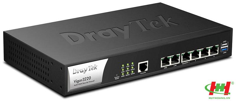 DrayTek Vigor3220 4 Wan VPN Router