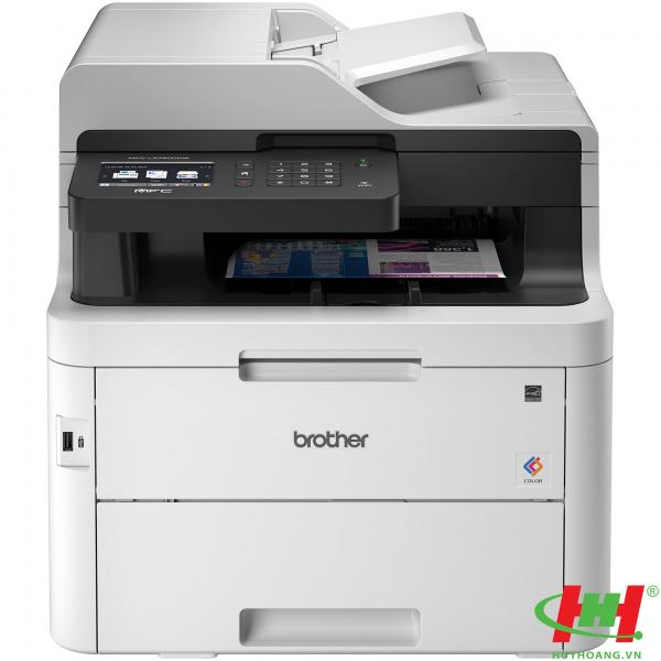 Máy in laser màu Brother HL-L3750CDW (in,  scan,  copy,  PC Fax,  Wifi,  in qua mạng)