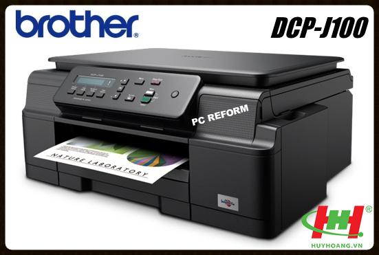 Máy in phun màu Brother DCP - J100 (in,  scan,  copy)